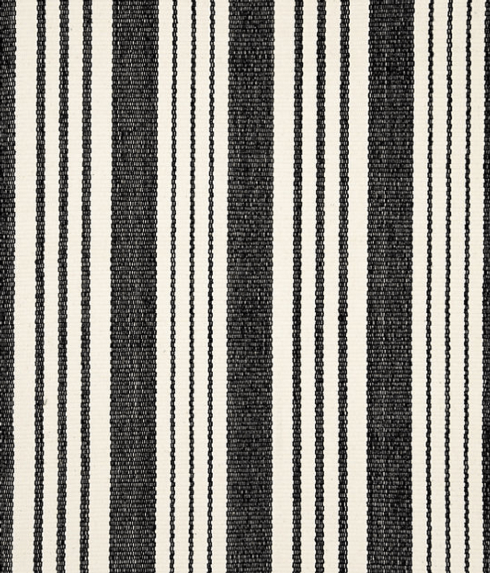 $408.00 Birmingham Black Woven Cotton Rug - 8 x 10
