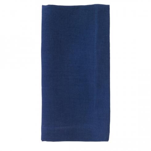 Bodrum   Linen Napkin ~ Set of 6 ~ Navy $108.95