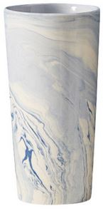 Two's Company   Tozai Terre Melee Tapered Vase ~ Blue $42.95