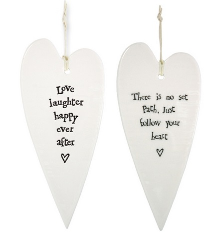 Two's Company   Heart Shaped Ornament $7.95
