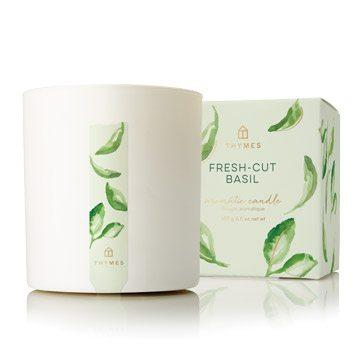 Thymes   Fresh Cut Basil Poured Candle $27.95