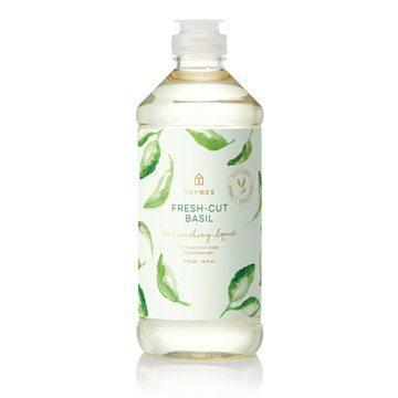 Thymes   Fresh Cut Basil Dishwashing Liquid $15.95
