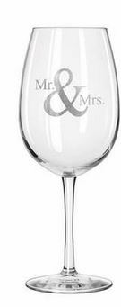 "$60.00 Reserve Wine Glass ~ Set of 4 ~ ""E"""