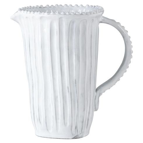Hollyhocks Exclusives   VIETRI Incanto Pitcher ~ Stripe $126.00