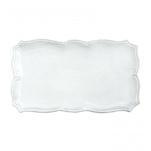 Hollyhocks Exclusives   VIETRI Incanto Rectangular Platter ~ Baroque $135.00
