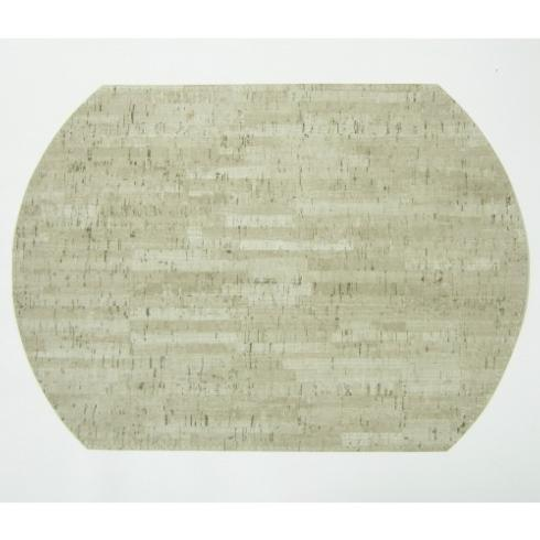 Karen Lee Ballard   Cork Sand/Mercury Oval Placemat $18.95