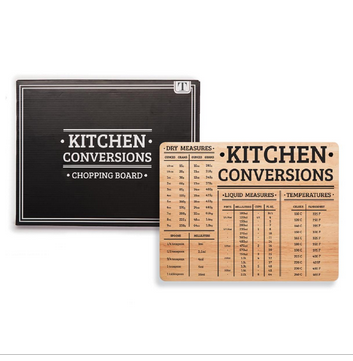 "$28.95 Cutting Board ~ ""Kitchen Conversions"""