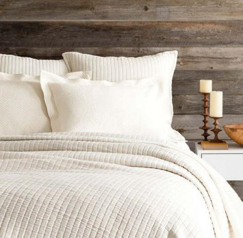 Pine Cone Hill   Boyfriend Matelasse Coverlet ~ King ~ Ivory $380.00