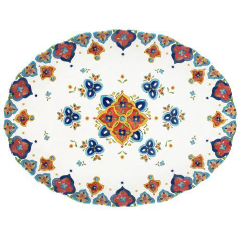 Le Cadeaux   Marrakech Oval Platter $33.95