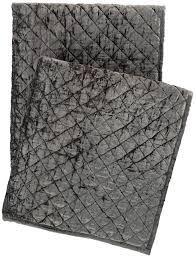 $300.00 Patina Velvet Throw ~ Grey