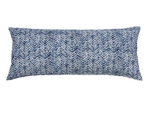 $134.00 Resist Indigo Lumbar Pillow