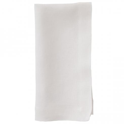Bodrum   Linen Napkins ~ Set of 6 ~ Off-White $108.95
