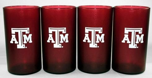 $29.95 Collegiate Tumblers ~ 4 Pack ~ Texas A&M