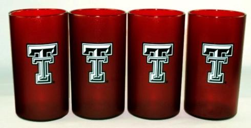$29.95 Texas Tech Collegiate Tumblers ~ Set of 4