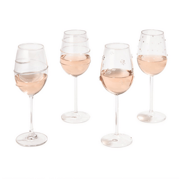 Two\'s Company   Verre Wine Glass ~ Assorted Styles $21.95