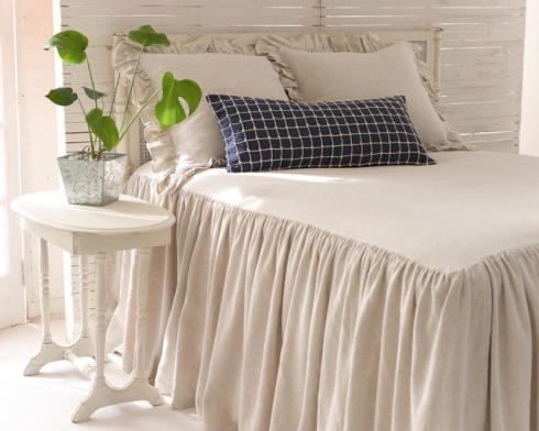 $353.00 Wilton Natural Bedspread ~ Queen