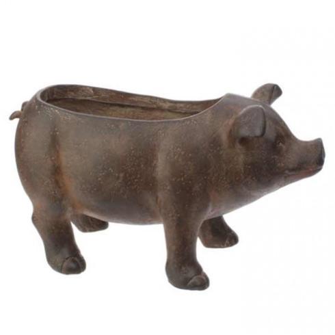 $61.95 Resin Pig Planter