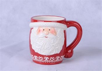 Hollyhocks Exclusives   Santa Mug $6.95