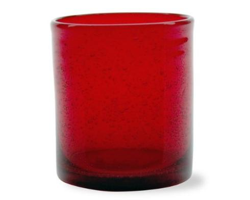 Tag   Bubble Glass Small Tumbler ~ Red $16.95
