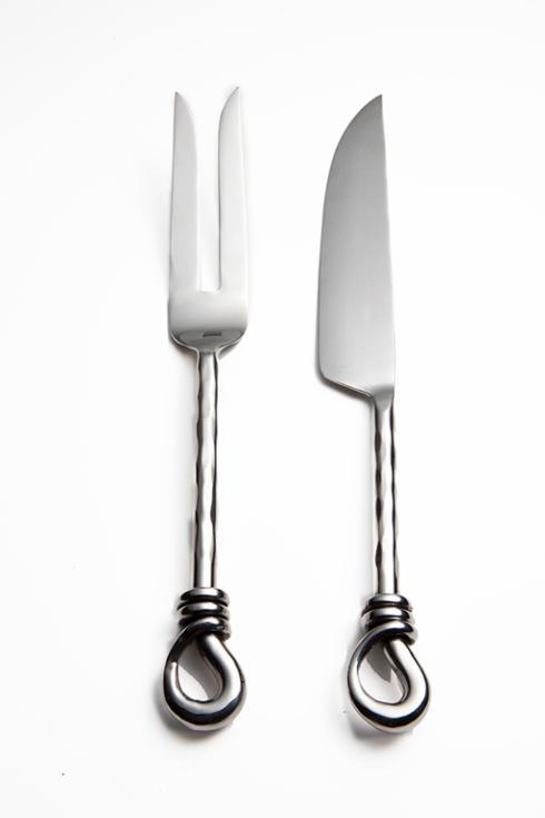 $47.95 2Pc Carving Fork & Knife