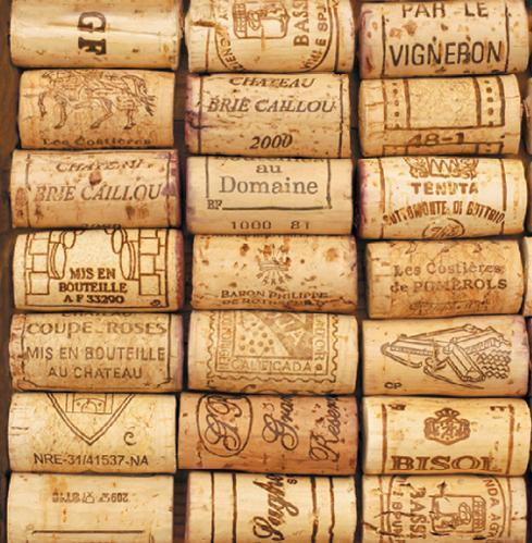 "$5.95 Cocktail Napkins ~ Wine Cellar ""Corks"""