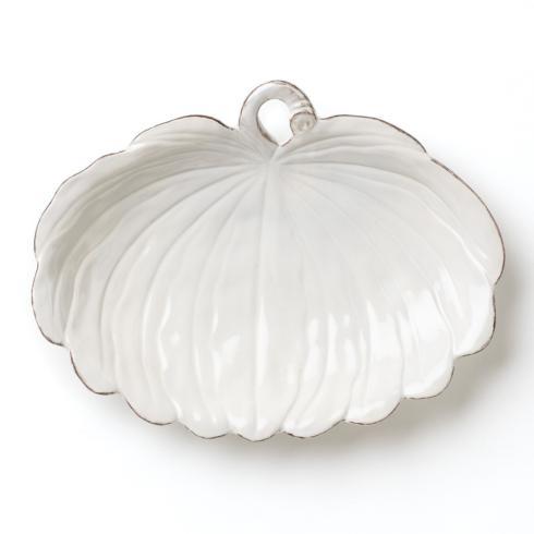 Hollyhocks Exclusives   VIETRI ~ Natura Oval Pumpkin Platter $99.00