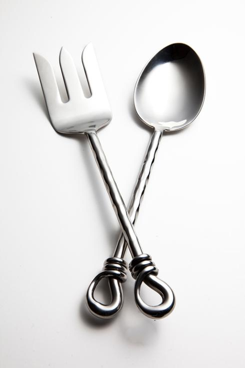 $60.95 2Pc Serving Fork & Spoon