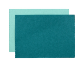 $15.95 Vinyl Placemat ~ Spearmint/Aruba