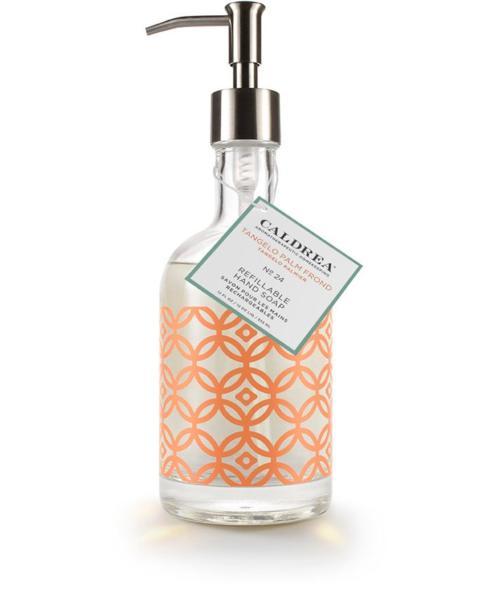Caldrea   Tangelo Palm Frond Hand Soap ~ Refillable Glass Bottle $27.95