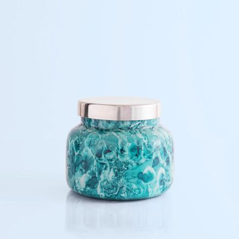 Capri Blue   Volcano Mint Watercolor Jar Candle $27.95