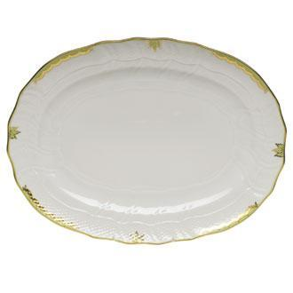 Herend  Princess Victoria Green Platter $360.00