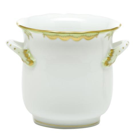 $210.00 Mini Cachepot with Handles - Green