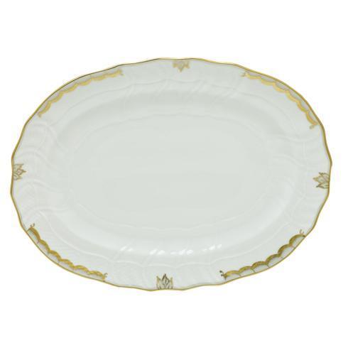 Herend  Princess Victoria Gray Platter - Multicolor $360.00