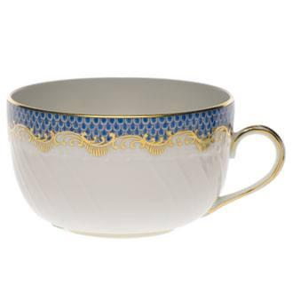 Herend Fish Scale Blue Canton Cup - Blue $210.00