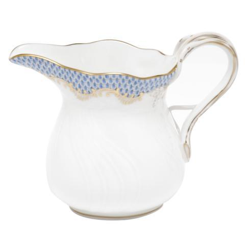 Herend Fish Scale Light Blue Creamer - Light Blue $205.00