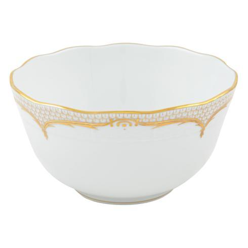 Herend Collections Golden Elegance Round Bowl $335.00