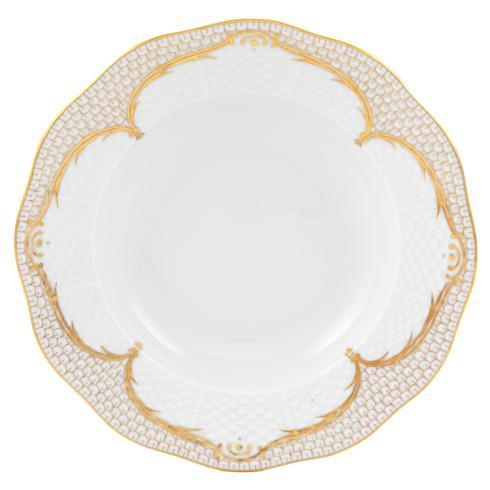 Herend Collections Golden Elegance Rim Soup Plate $240.00