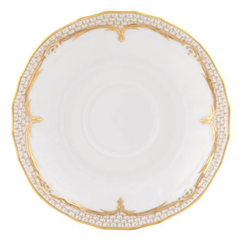 Herend Collections Golden Elegance Canton Saucer $95.00