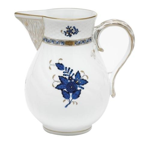 Herend  Chinese Bouquet Black Sapphire Pitcher -  Black Sapphire $375.00