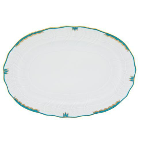 Herend Collections Princess Victoria Turquoise Platter $360.00