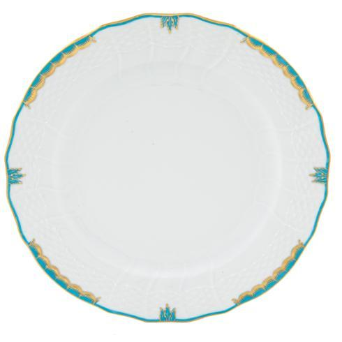 Herend Collections Princess Victoria Turquoise Service Plate $135.00