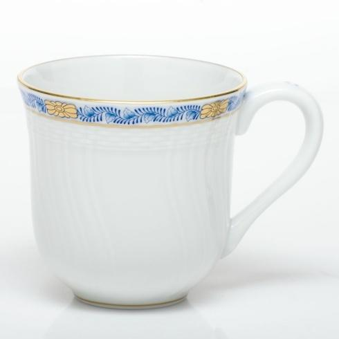 Herend  Chinese Bouquet Garland Blue Mug $125.00