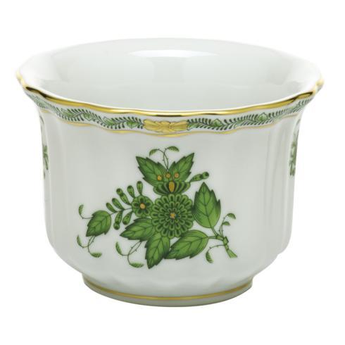 $180.00 Mini Cachepot - Green