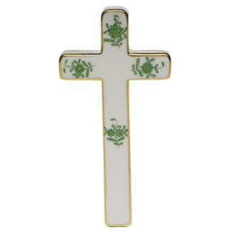 Herend  Chinese Bouquet Green Cross $240.00