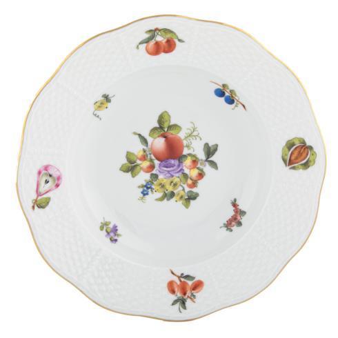 $250.00 Rim Soup Plate - Multicolor