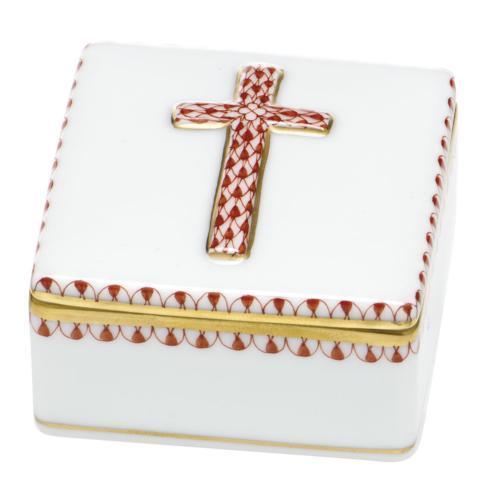 Prayer Box - Rust