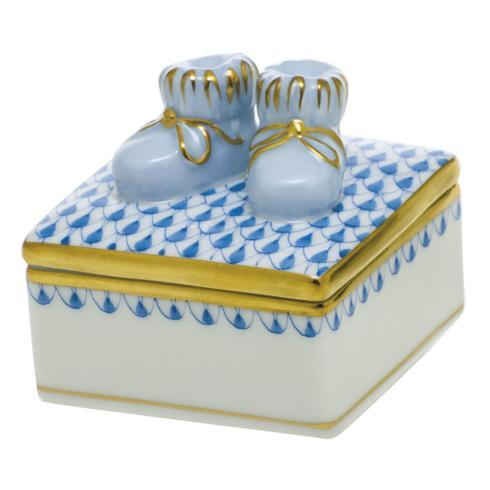 $225.00 Baby Bootie Box - Blue