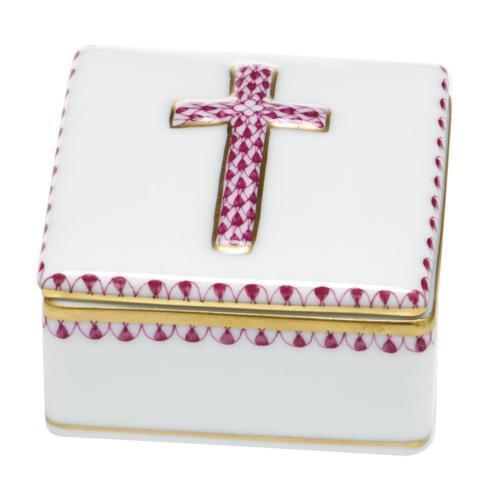 $170.00 Prayer Box - Raspberry