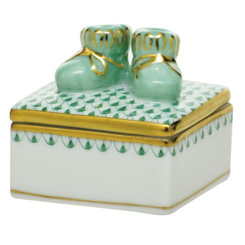 $225.00 Baby Bootie Box - Green