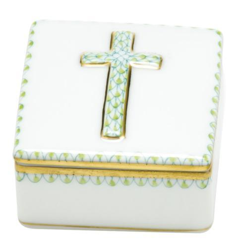 Herend Home Accessories Boxes Prayer Box - Key Lime $170.00